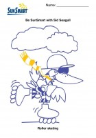 sunsmart coloring pages - photo#10