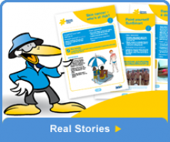 Real Stories Button
